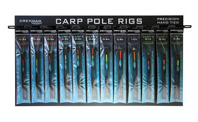Drennan Carp Pole Rigs (Carp 1, 2, 3 & 4) All Sizes Match Pole Coarse Fishing