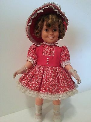 """Shirley Temple Doll 16"""" Ideal Toy Corp. 1972,  Marked ST-14-H-213 Great Shape"""