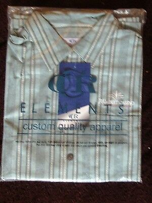 Rampart Casino Las Vegas Men's Dress Shirt NIP Large + BONUS