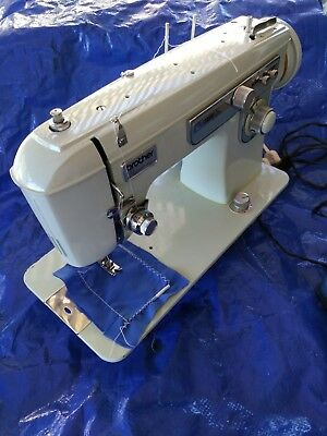 BROTHER PROJECT 40 Sewing Machine Vintage Japan All Metal Zig Zag Classy Brother Japan Sewing Machine