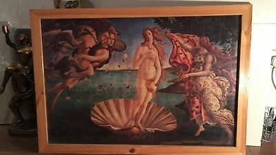 Sandro Botticelli The Birth of Venus Painting Picture Art Print Framed