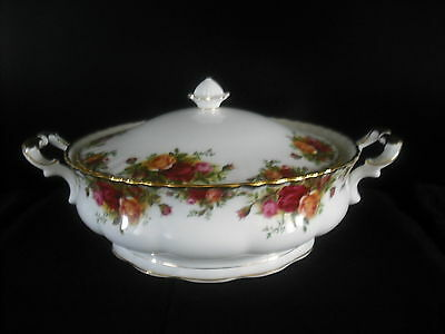Royal Albert 'old Country Roses' Tureen 1St