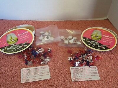 COZY CANDLES Floating Candles Vintage 2 Boxes Like the Un Candle 70's FREE Ship