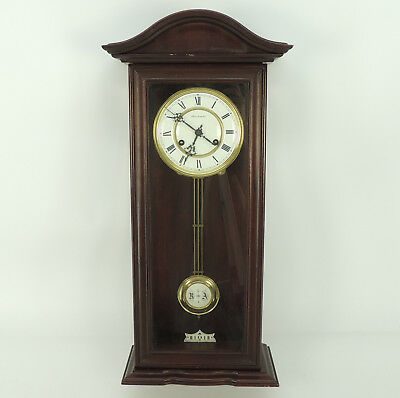 hermle pendeluhr wanduhr regulator uhr mit gong eur 120 00 picclick de. Black Bedroom Furniture Sets. Home Design Ideas