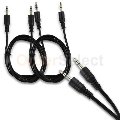 2X 3 FT 3.5mm AUX AUXILIARY CORD Male to Male Stereo Audio Cable PC iPod MP3 CAR