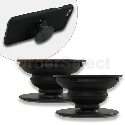 2X Pop Up Expanding Kickstand Hand Grip Mount For Samsung S7 S8 Plus Note 8