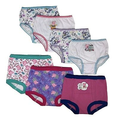 Peppa Pig Toddler Girls' 3pk Training Pants and 4pk Panties COMBO PACK