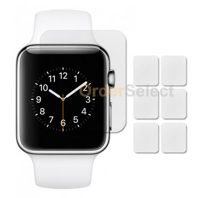 6X LCD Ultra Clear HD Screen Protector for Apple iWatch Sport Watch 2nd Gen 38mm