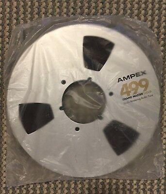 "Ampex 499 Grand Master Gold Audio Tape Reel 1/2"" X 2500' NEW Sealed"