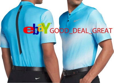1ac928c2 2017 TIGER WOODS *TW Zonal Cooling Mobility 2* Golf Shirt 833167-010 ...