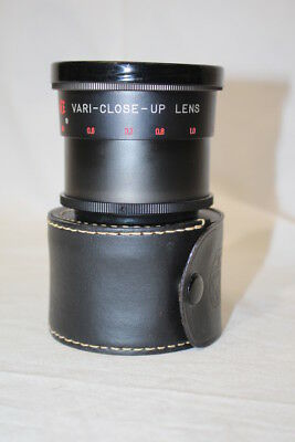Vintage Camera Lens HCE Vari-Close-Up Lens No.18001 With Snap Case