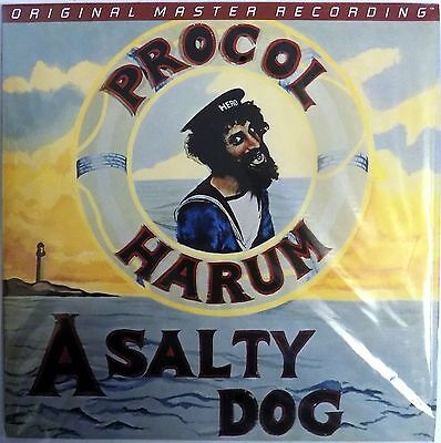 Procol Harum - A Salty Dog - Mobile Fidelity Sound Lab LP - 180 Gram - New