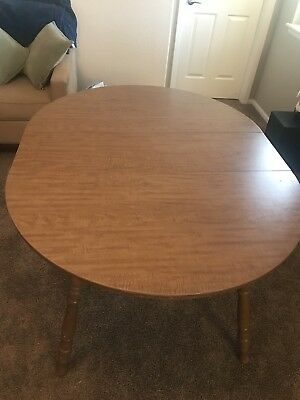 Vintage Dining Table W/ 4 Chairs