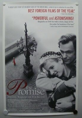 THE PROMISE* 1995 Meret Becker, Corinna Harfouch, Hans Kremer-One Sheet