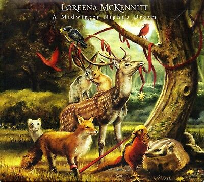 Loreena McKennitt ‎– A Midwinter Night's Dream - CD 2008 Digipack