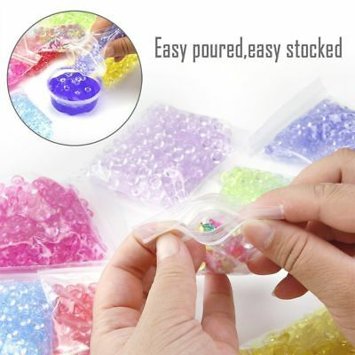 Fishbowl Beads Round Pearl Tinfoil Paper for Crunchy Slime DIY Decorative Crafts