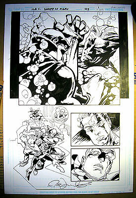 Rick LEONARDI - JLA: Classified - Original Art