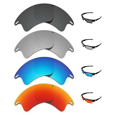 Tintart 4 Pairs Polarized Replacement Lenses for-Oakley Fast Jacket XL Sunglass