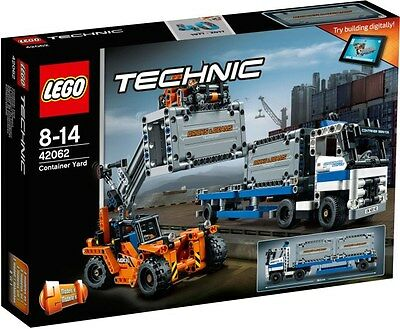 Lego Technic 2017 New Release 42062 Container Yard With Truck & Container Loade