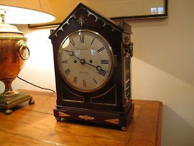 Antique Bracket Clock by Will. Grayson of Henley On Thames. ca1825