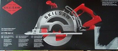 SKILSAW 15 Amp Corded Electric 8 in. OUTLAW Worm Drive Saw for Metal with Blade