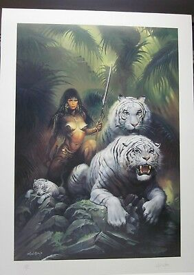 The Tigress - Ken Kelly - Signed + Numbered Print