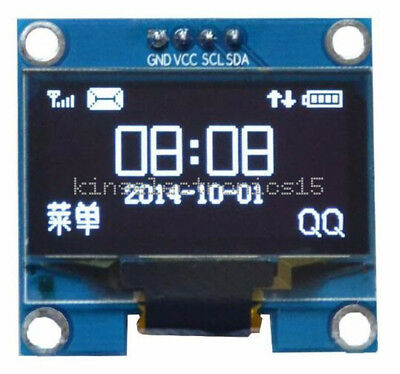 "White 1.3"" OLED LCD 4PIN Display Module IIC I2C Interface 128x64 for Arduino"