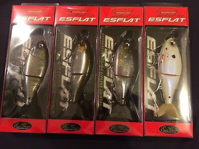 Evergreen Combat Lures Esflat