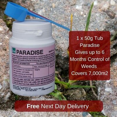 Paradise Long Lasting Residual Weed Killer For Driveways And Paths Can Last 6Mth