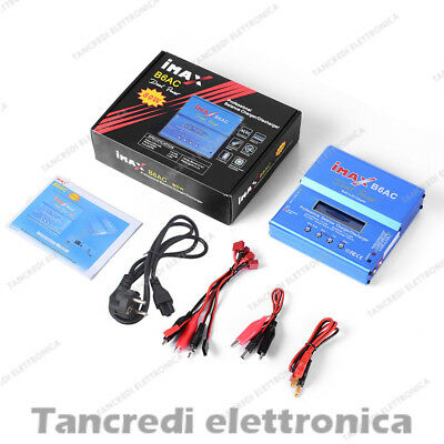 Imax B6AC Caricabatteria Dual Power Lipo NiMh Batterie Balance Charger Drone