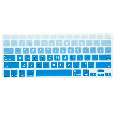 competitive price bd00f cbfaa ALLYTECH FADED OMBRE Series Keyboard Cover Silicone Skin Protector for  MacBoo...