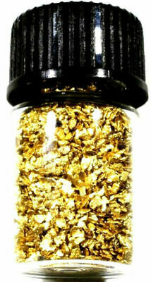 .500 Grams Alaskan Yukon Bc Natural Pure Gold Nuggets Mesh #30 W Bottle (#b300)