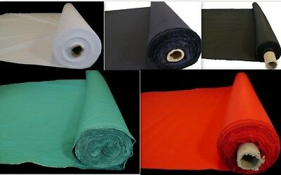 "PREMIUM Plain Thick Heavy Poly Polycotton Drill Workwear Fabric 60"" 150 cm wide"