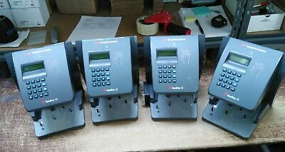 Lot of 4 Schlage HK-II HandKey II Recognition Systems Biometric Reader