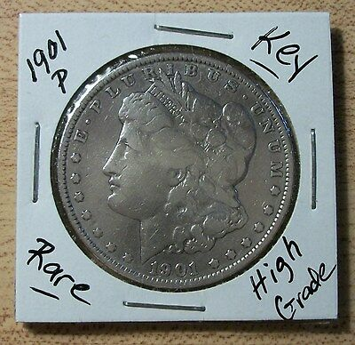 1901 P Morgan Silver Dollar