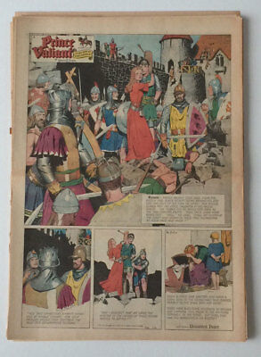 Hal Foster, Prince Valiant 1951 –  52 of 52 Sundays, ALL FULLS, COMPLETE, NO RES