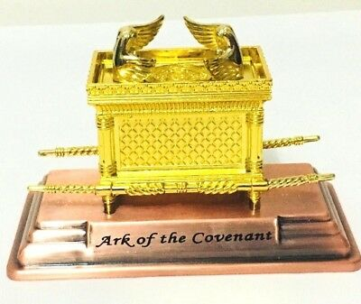 Gold Plated Ark of the Covenant on a Copper Base Israel Hebrew Jewish Jerusalem