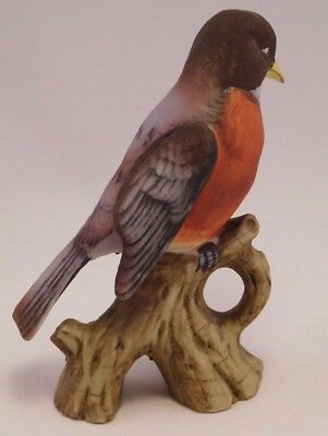 Lefton Porcelain Bird Vintage KW-1251 Robin