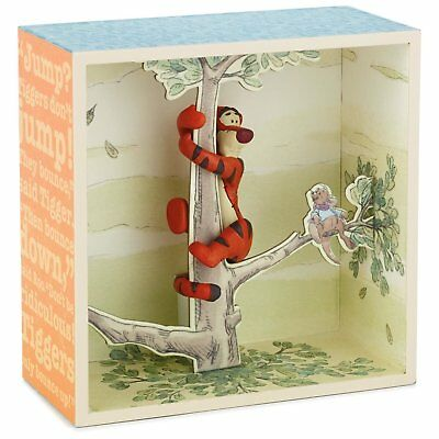 Winnie the Pooh Hundred Acre Wood Shadow Box - Tigger in a Tree Limited