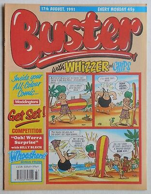 BUSTER COMIC - 17th August 1991