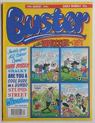 BUSTER COMIC - 24th August 1991