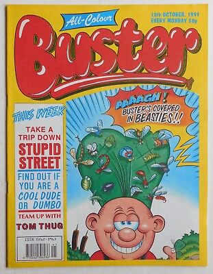 BUSTER COMIC - 12th October 1991
