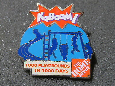 home depot collectibles kaboom  lapel pin