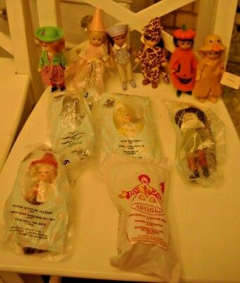 Lot 11 Madame Alexander McDonalds Dolls