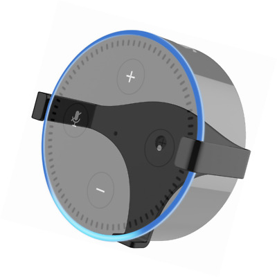eBoot Solid Metal Wall Mount Stand Holder Stand Bracket for All-New Echo Dot 2nd