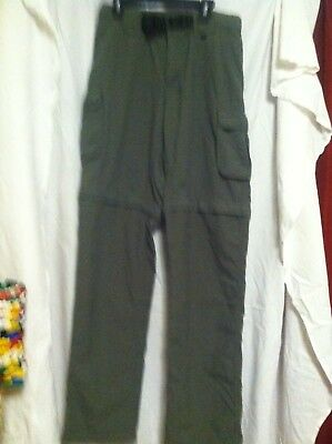 Boy Scouts Of America Switchback Mens Uniform Pant Small-relaxed Nylon-supplex