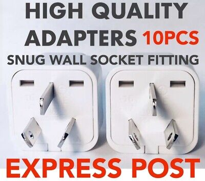 3 Universal Travel Adapter International UK EU US to AU Australian Power Plug