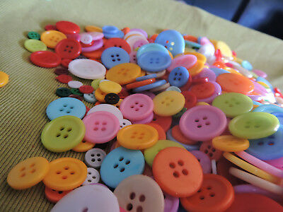 bulk buttons 100~1000 new lot   multicolour Acrylic 8~23mm Crafts Sewing.