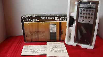 Unisonic Door Security Guard and Chime,  Vintage NIB #DG-29