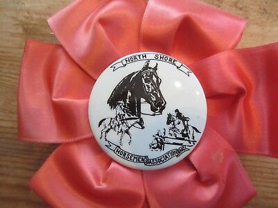 Vintage Wilmington Scholarship Show North Shore Peach Horse Show Ribbon